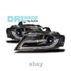 Projecteurs avec Feux Diurnes e LED Audi A4 (B8) AUCO AU100089