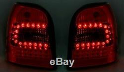 Rückleuchten für AUDI A4 B5 1994-2001 AVANT Rot Weiss LED FR LDAU93EP XINO FR