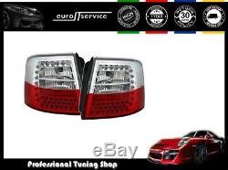 Set Feux Arriere Ensemble Led Vt364 Audi A6 C5 Avant Kombi 1997-2005 Rouge Blanc