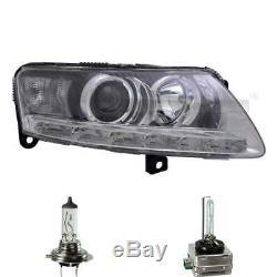 Xenon Phare à gauche D3S/H7 / LED pour Audi A6 avant 4F5 C6 4F2 Incl. Ampoules
