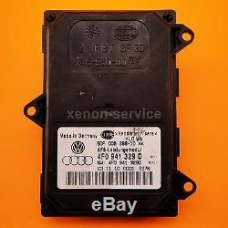 Xenon Xénon Steuergerät Leistungsmodul Kurvenlicht Audi A6 A8 4F0 941 329D NEUF